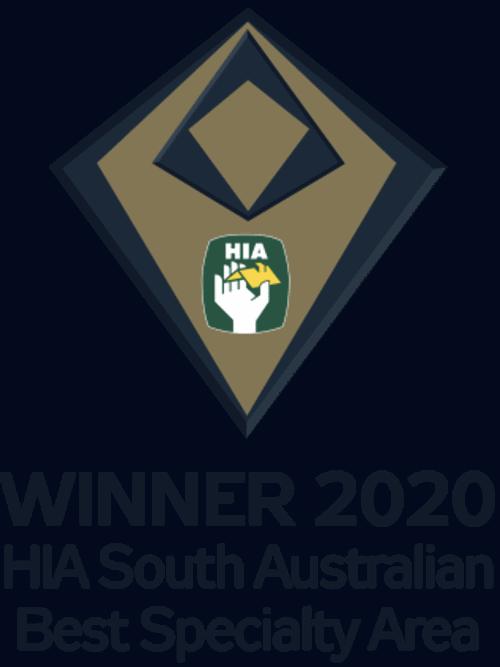 HIA Award Best Speciality Area 2020