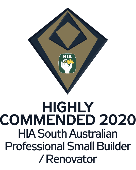 HIA Award Highly Commended Builder