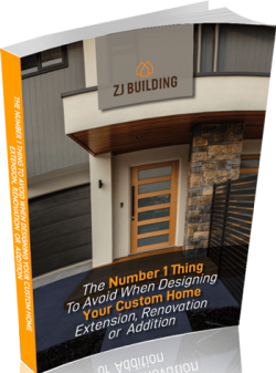 Number 1 thing to avoid when designing your custom home